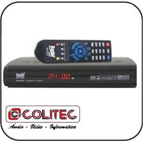 Receptor Analogico E Digital Bedinsat Anadigi Com Controle