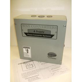 Convertidor Estatico Trifasico De 3 A 10 Hp 220v Made In Usa
