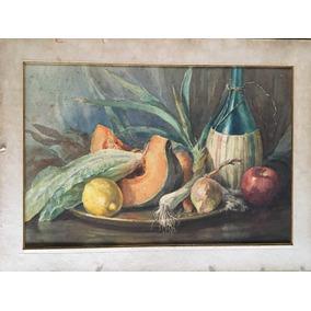 Jose Miguel Bordino (1893-1965) Pintor Argentino Acuarela