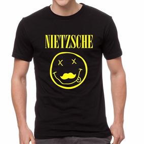 Remera Friedrich Nietzsche Grunge Nirvana Filosofia Envios!