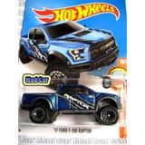 Mc Mad Car 17 Ford F150 Raptor Hot Wheels 1/64 Hw 2016