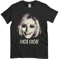 Remera Raffaella Carrà, Noir Tuca Tuca, Image Vintage, Pop