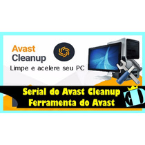 Avast Cleanup 2017 - 1 Ano 3 Pc