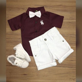 c478586c99c Camisa Social Cavalinho   Bermuda Color   Tenis Old Prince