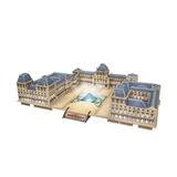 Puzzle 3d Louvre Con Led - Encontralo.shop -