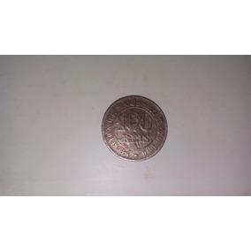 Moeda Antiga Rara De 100 Reis 1870