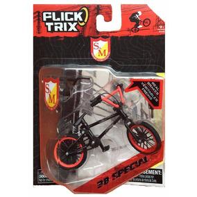 Bike De Dedo Flick Trix Com Freio Colecionar Bmx Miniatura