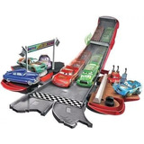 Cars 3 Pista Rayo Mc Queen Set De Juego Transformable Mattel