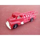 Antiguo Camion Bomberos Plastico 1960s Juguete Antiguo