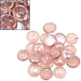 Gemas De Cristal Decorativas Color Rosa. Aluzza