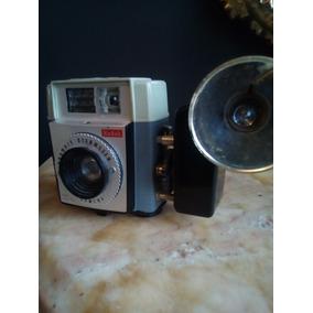 Cámara Fotográfica Antigua. Brownie, Starmeter, Kodak.