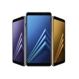 Samsung A8 2018 32gb Y 4gb Ram Dual Camara 16mpx Gtia Envios