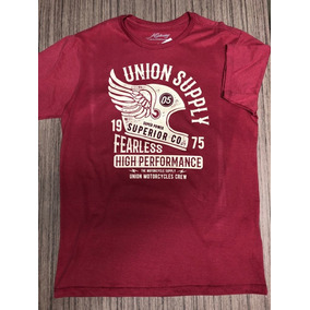 Camiseta Highway Crew Bordo P