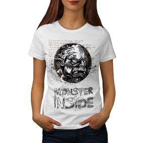 Remera Monster Inside Horror