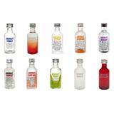 Vodka Absolut Com 10 Sabores Miniatura De 50ml Estampa Nova