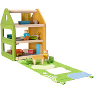 Casita De Madera Para Muñecas -playhouse