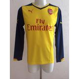 Camiseta Arsenal Puma Mangas Largas Inglaterra Futbol
