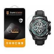 (paquete 2) Supershieldz Diseñado Ticwatch (pro 3 Gps) Sin