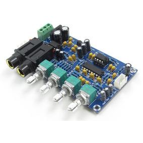 Pré-amplificador Microfone Processador De Eco Reverberação