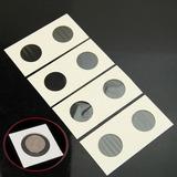 Lote 10 Cartones Para Monedas 40 Mm Coleccion Oro Plata S6