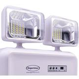 Luminária De Emergência Led 1200 Lumens Bivolt Segurimax