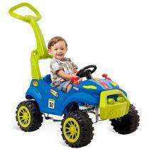 Carrinho De Passeio Infantil Bebê Pedal Bandeirante