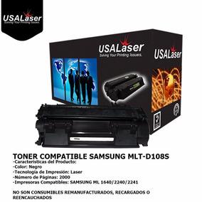 Toner Compatible Samsung Mlt-d108s 108 D108 Ml-1640 Ml-2240