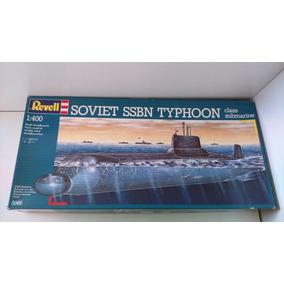 1/400 Revell Submarino Soviet Ssbn Typhoon Class