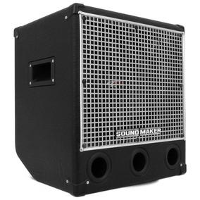 Cubo P/ Contra Baixo Black Bass 50 Sound Maker Amplificador
