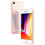 Apple Iphone 8 64gb 4g Dourado Novo Lacrado +capa E Película