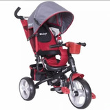 Coche Triciclo Paseador Para Bebés De Lujo