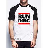 Camiseta Run Dmc Raglan Skate - A Melhor Do Mercado Livre