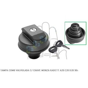 Tampa Tanque Valvulada C/ Chave Monza Kadett A20 C20 D20