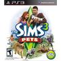 The Sims 3 Pets - Ps3 - Mídia Física - Lacrado - Nf