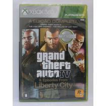 Grand Theft Auto Gta Iv 4 Complete Edition Xbox 360 Lacrado