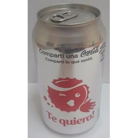 Lata De Coca Cola Light Con Emoticones (te Quiero!)