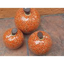 Juego De Frutas De Vitromosaico Naranjas