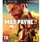 Max Payne 3 Ps3- Original - Importado - Fisico - Sellado