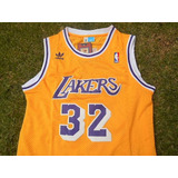 Jersey Los Ángeles Lakers Clásica Retro Magic Johnson 32
