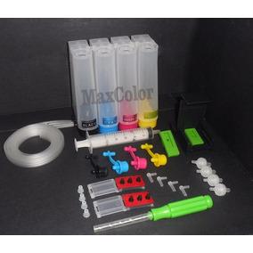 Bulk Ink P/ Hp Impressora Deskjet D1660 + Snap Fill + Broca
