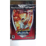 Street Fighter Alpha Anthology.-ps2