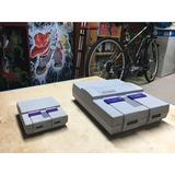Case Super Nintendo Com Saída Usb Frontal.