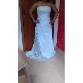 Vestido De Noiva Novo Tomara Que Caia Cauda De Sereia