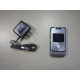 Celular Motorola V3xx | Preto | Desbloqueado | Camera 1.3mp