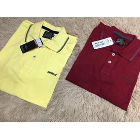 3b3e760289 Kit 2 Camisas Polo Masculina Colcci. 7 cores