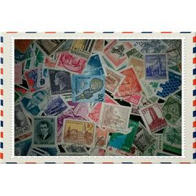 100 Selos Regulares Universais Diferentes Usados