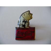 Remato Raro Pin Oriental Artes Marciales De Coca Cola