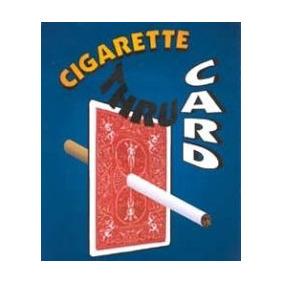 Cigarrillo A Travez De La Carta, El Original!!