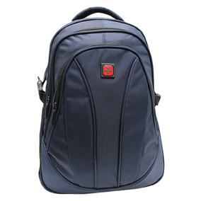Mochila Escolar Swissbrand Original Backpack Azul Sbx-0001
