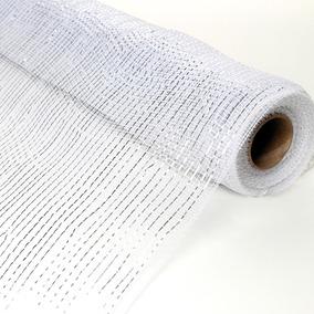 Tecido Decorativo Branco - Cromus: 1715091 Único